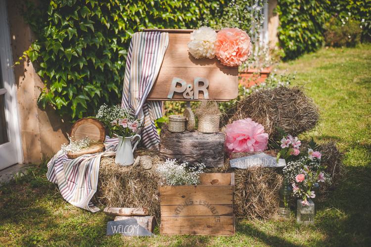 Paula y rutger boda r stica en asturias blog the love for Decoracion rustica campestre