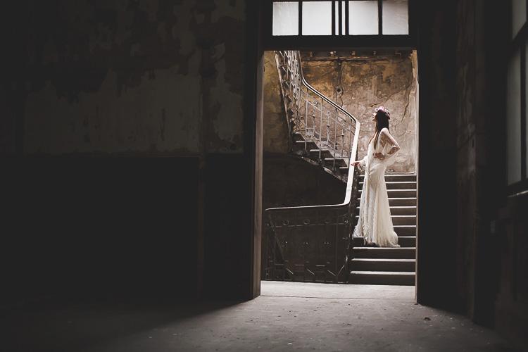 sesion de inspiración, shooting, sesión en la nave, wedding, wedding planner, asturias, novia, decoracion